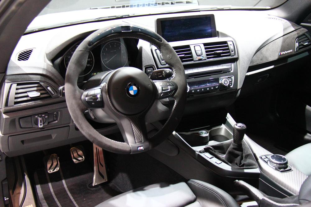 2015 BMW M235i - interior