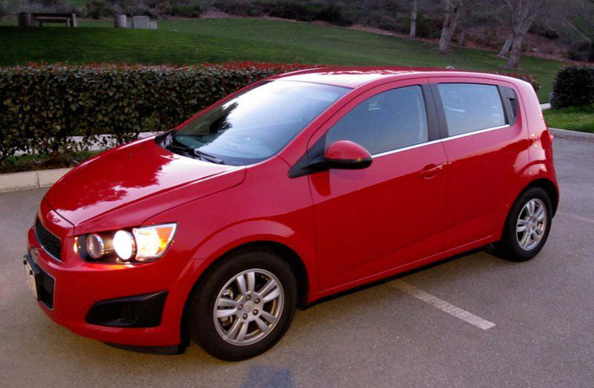 2015 chevy sonic hatchback lt - why this ride? ®