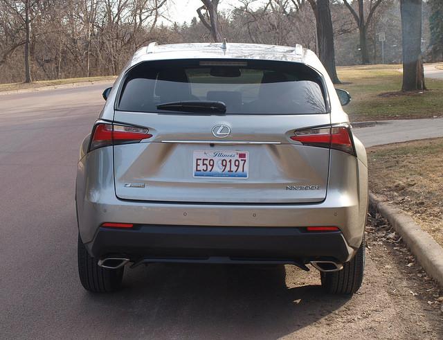 2015-Lexus-NX-200t-F-Sport-rear