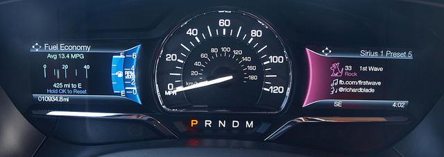 2015-Lincoln-Navigator-gauge