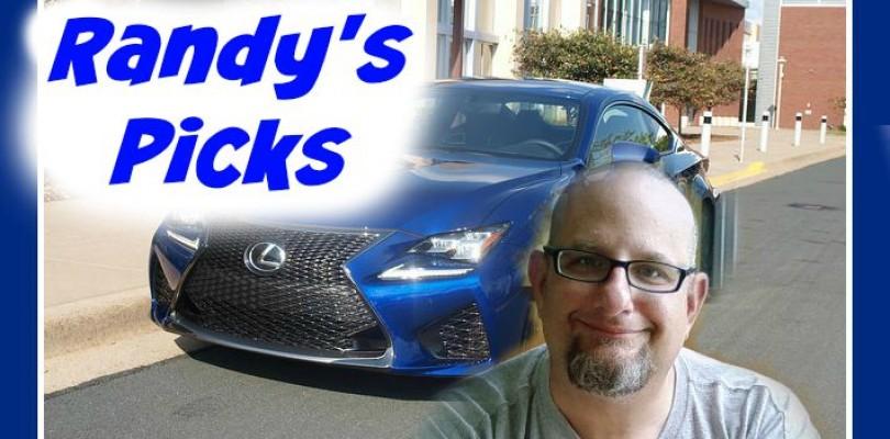 Car Buyer's Guide for 2015-2016: Randy's Picks